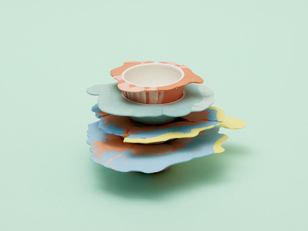 Liquid Series Bowls, cerámica de Alissa Volchkova