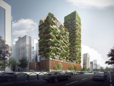 Nanjing Vertical Forest, el Bosque Vertical de Stefano Boeri Architetti en China