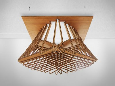 Rising Light Fixture, de Robert van Embricqs
