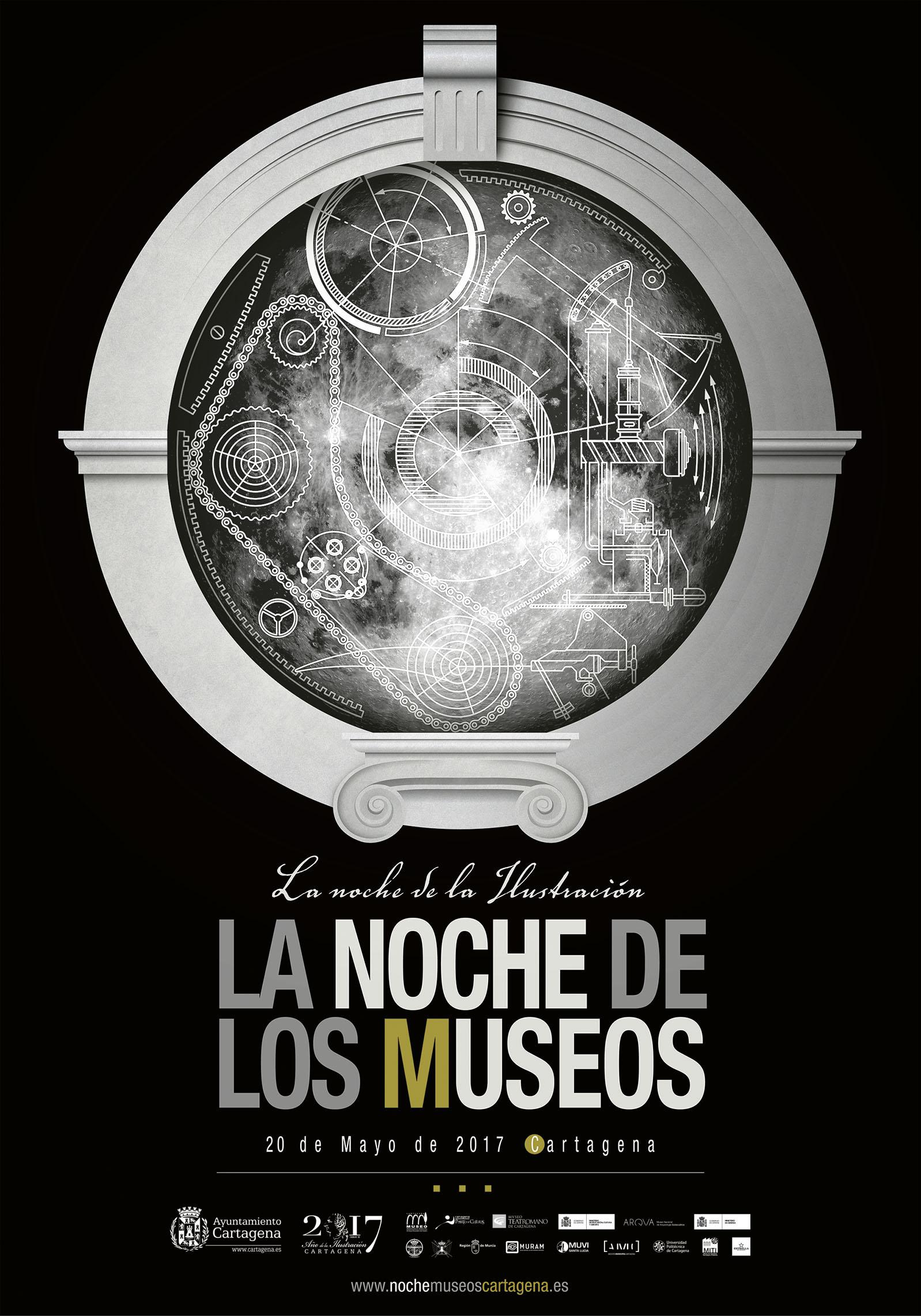 La noche de los museos. La noche de la ilustración. 20 de mayo, Cartagena