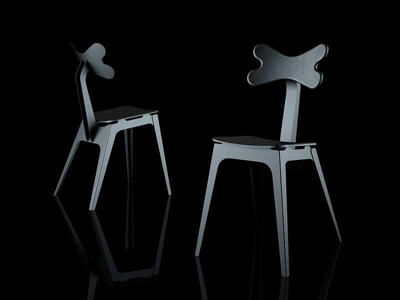 Cirrina, la silla de Sergey Lvov inspirada en un pulpo