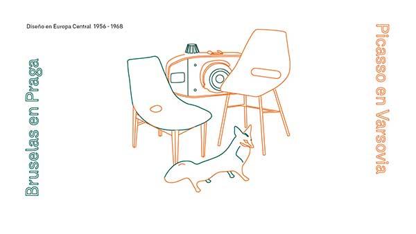 Exposición: Bruselas en Praga, Picasso en Varsovia. Diseño en Europa Central 1956 – 1968. IED Madrid, hasta el 26 de mayo