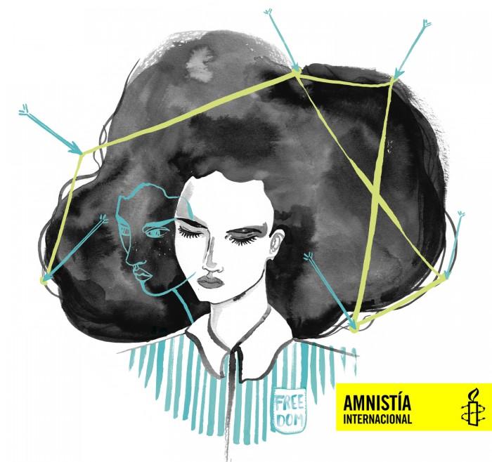 Amnistía Internacional, ilustración, 2017