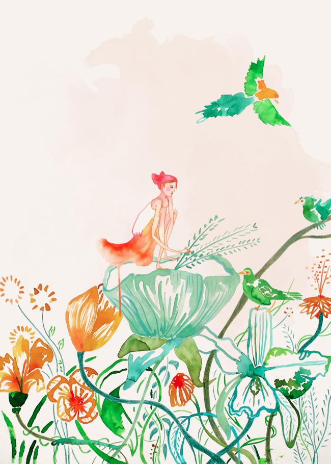 Ilustración para libro infantil, 2017
