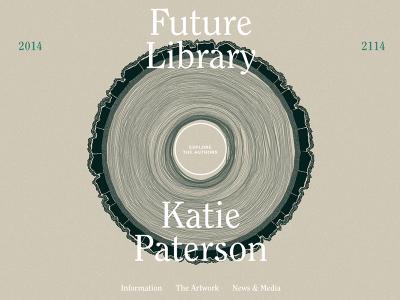 Future Library, de Katie Paterson. Los libros que jamás leeremos