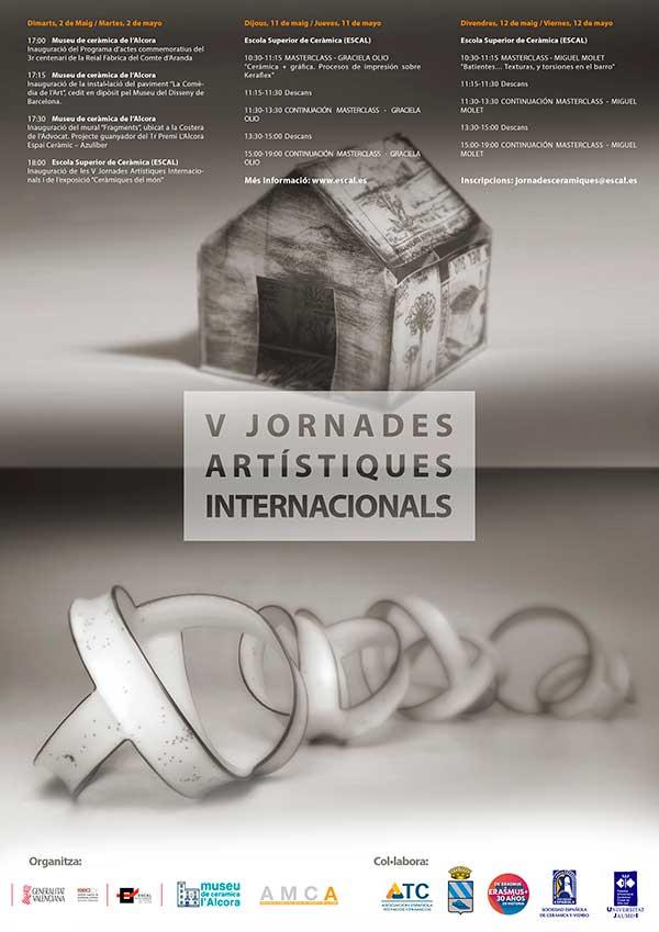 V Jornadas Artísticas Internacionales de l'ESCAL, mayo, 2017