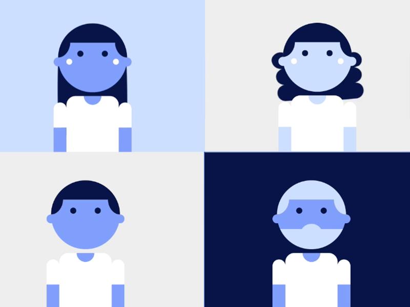La fuente que da vida, la tipografía solidaria de Azul Recreo™