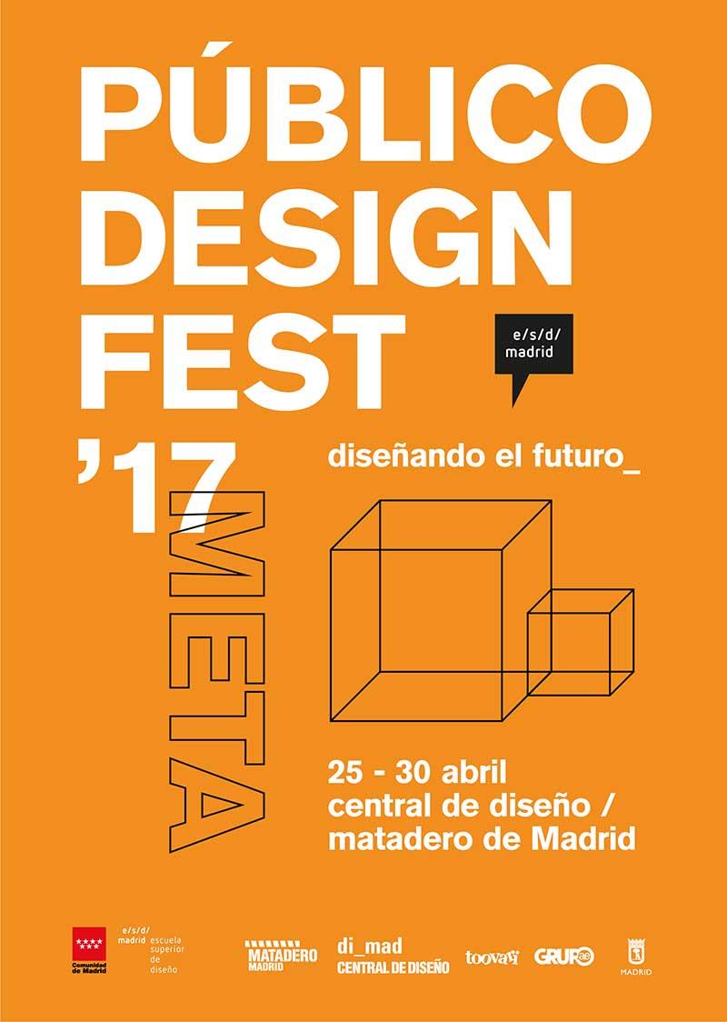 Público Design Fest, festival de diseño público de Madrid. Del 25 al 30 de abril