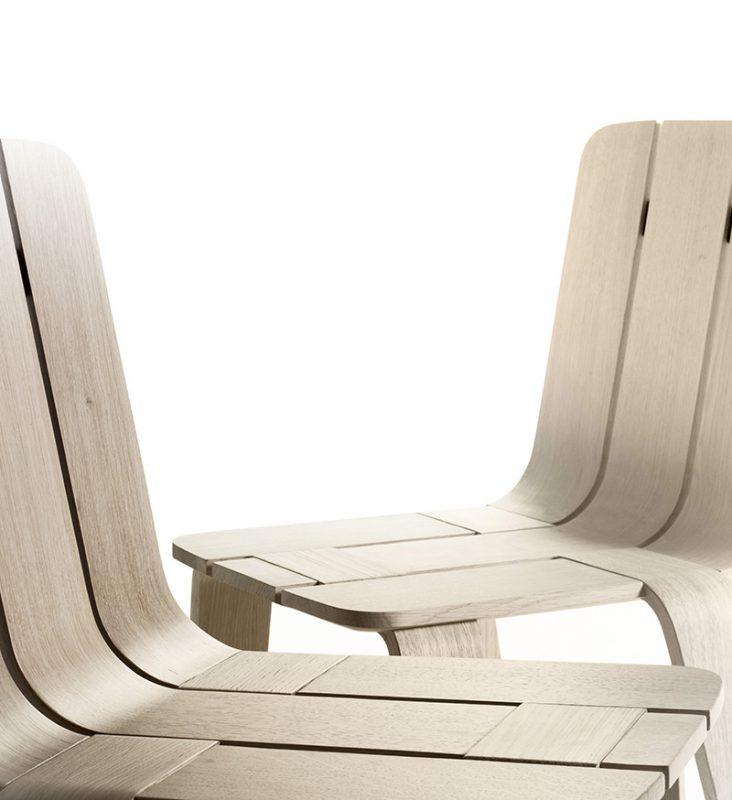 Saski, la colección de sillas de Jean Louis Iratzoki para Alki