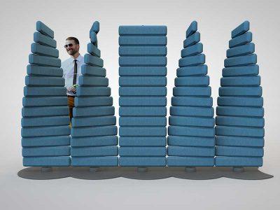 360, el divisor de ambiente interactivo de Federico Varone Estudio