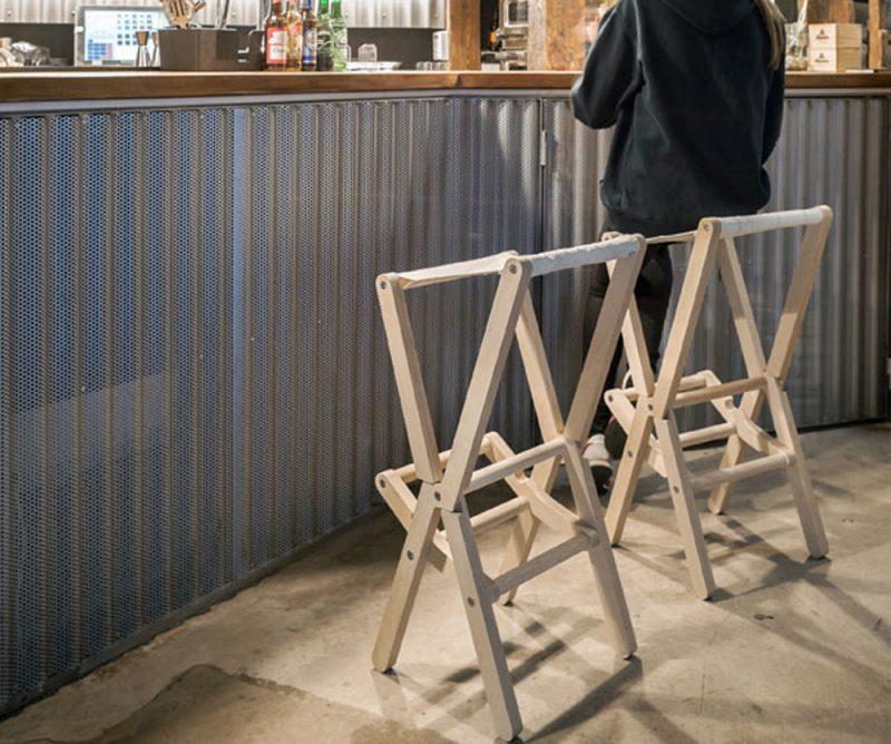 2nd RIS bar stool. Dvelas, ganadora del Premio de los editores de ICFF NYC 2017