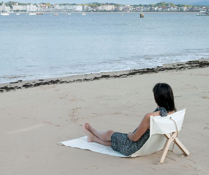 FORTUNA beach chair. Dvelas, ganadora del Premio de los editores de ICFF NYC 2017