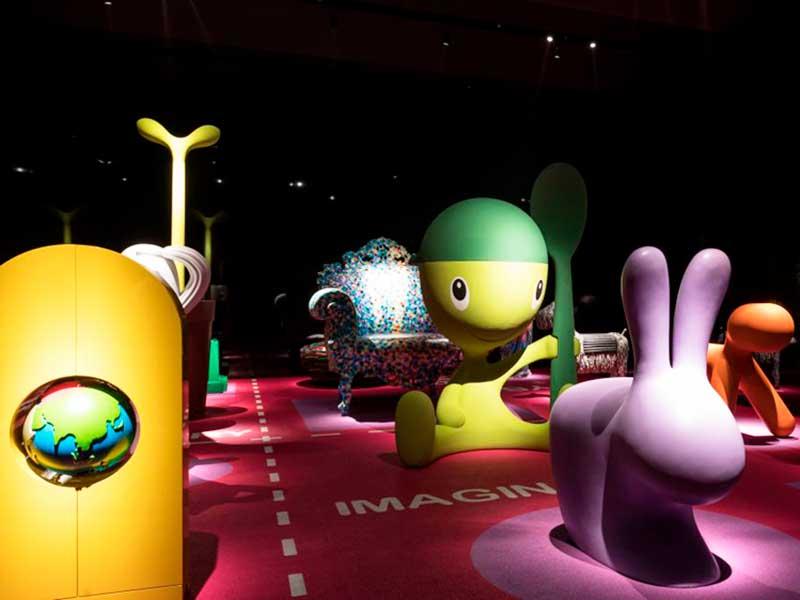 Diseño para niños en el Triennale Design Museum de Milán