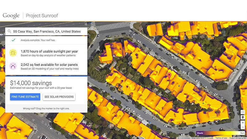 Sunroof, el proyecto solar de Google llega a Alemania
