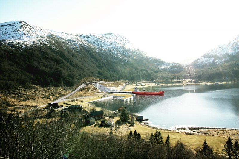 Snøhetta diseña el primer túnel para barcos del mundo en Noruega