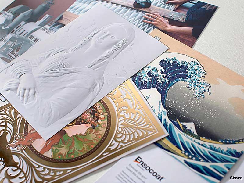 Nuevos materiales: Ensocoat, una cartulina aún más blanca