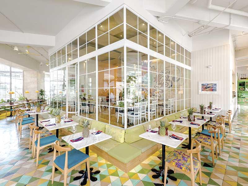 Saúl Bistro Majadas, de Taller KEN. Diseño de interior en Guatemala