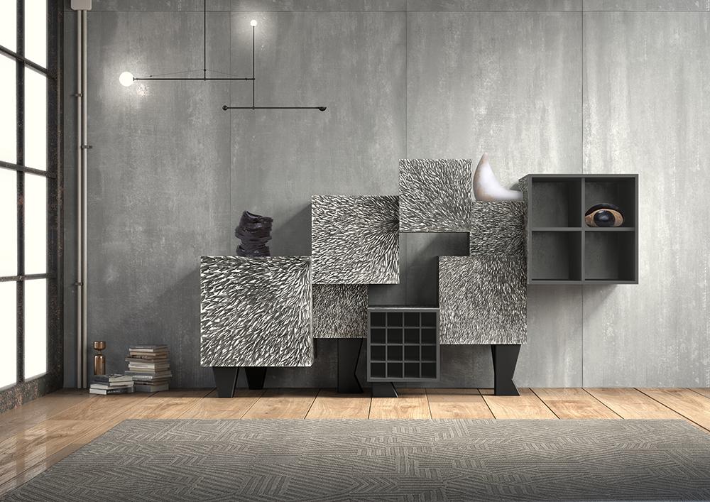 BD Barcelona Design, con Free Port de Martí Guixé y diseño gráfico de Pepa Reverter, Milán 2017