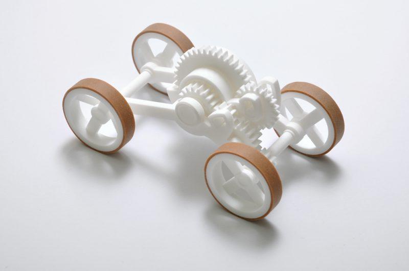 '3D. Imprimir el mundo', Fundación Telefónica. Toy Car, Wouter Scheublin & Dutch Research Institute TNO, 2008.