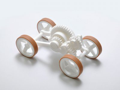 '3D. Imprimir el mundo', Fundación Telefónica. Toy Car, Wouter Scheublin & Dutch Research Institute TNO, 2008.