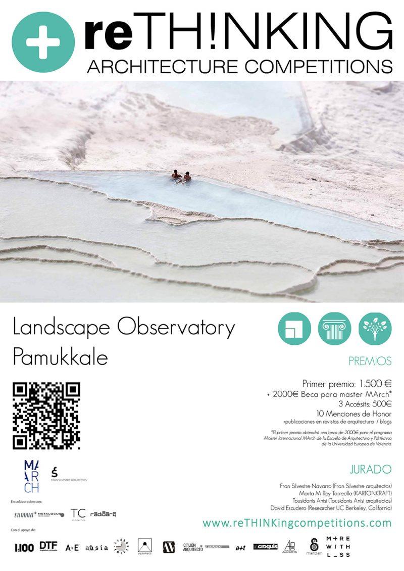 Concurso ' Landscape Observatory Pamukkale' de reTH!NKING