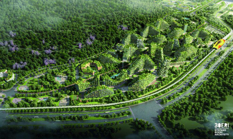 Liuzhou Forest City, la 'ciudad bosque' de Stefano Boeri Architetti