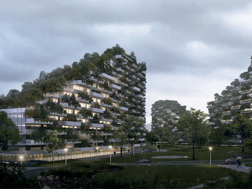 Liuzhou Forest City, de Stefano Boeri. La primera «ciudad bosque» del mundo
