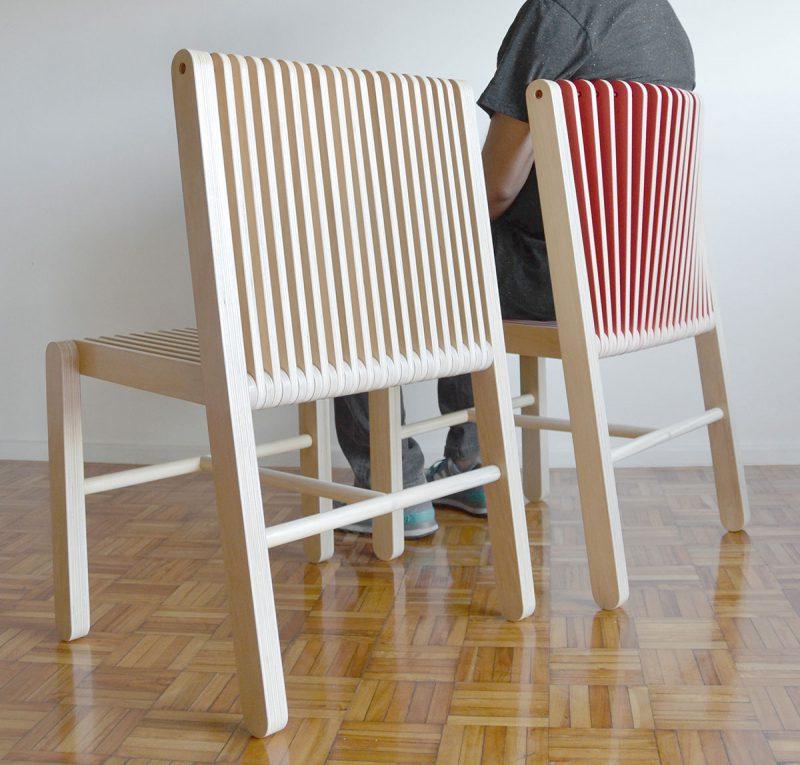 Vaivén, la silla adaptable de Federico Varone