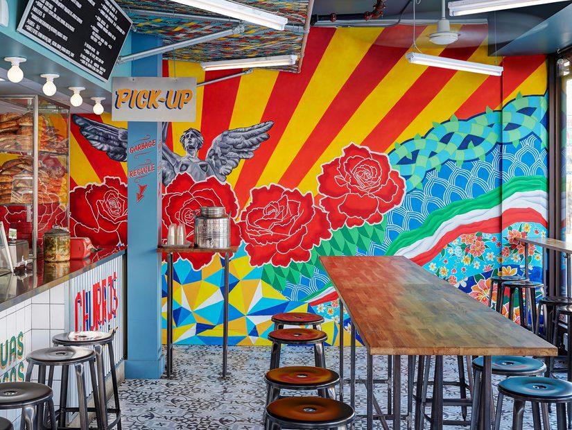 Tortería San Cosme, de +tongtong. El color de México invade Toronto