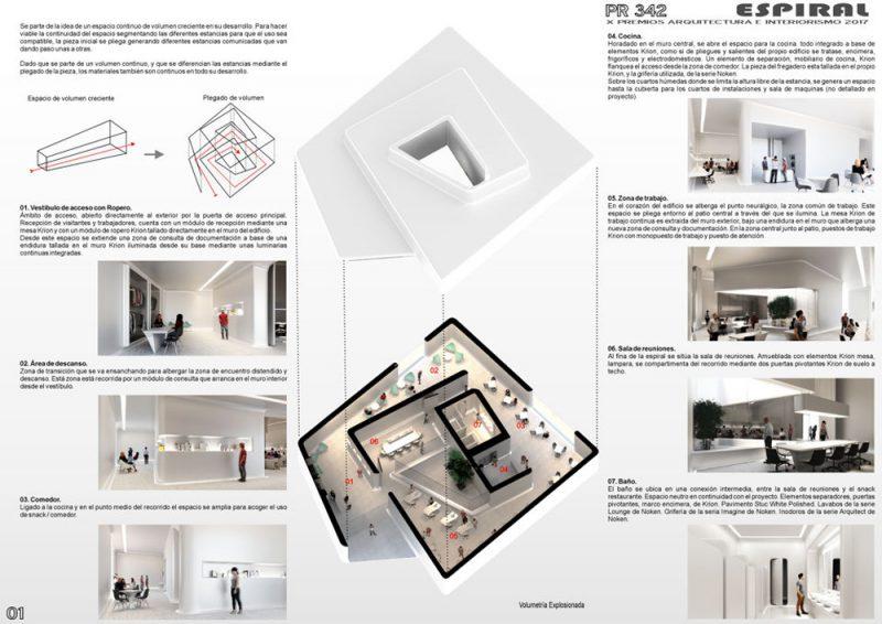 Entregados los X Premios Porcelanosa de Arquitectura e Interiorismo. Ganador categoría Proyectos de Futuro-Profesionales