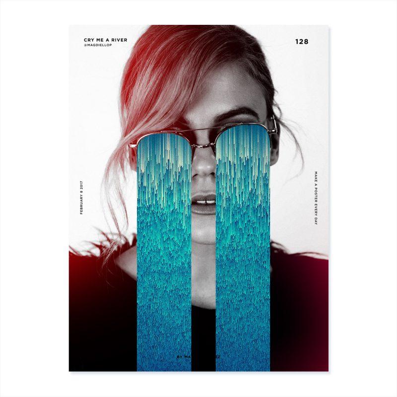 A Poster Every Day, los carteles cotidianos de Magdiel López