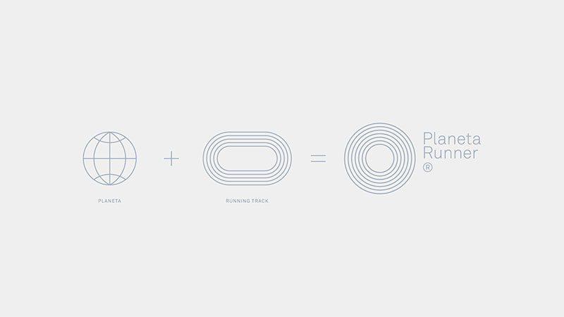 Asís crea una potente identidad visual para PlanetaRunner®