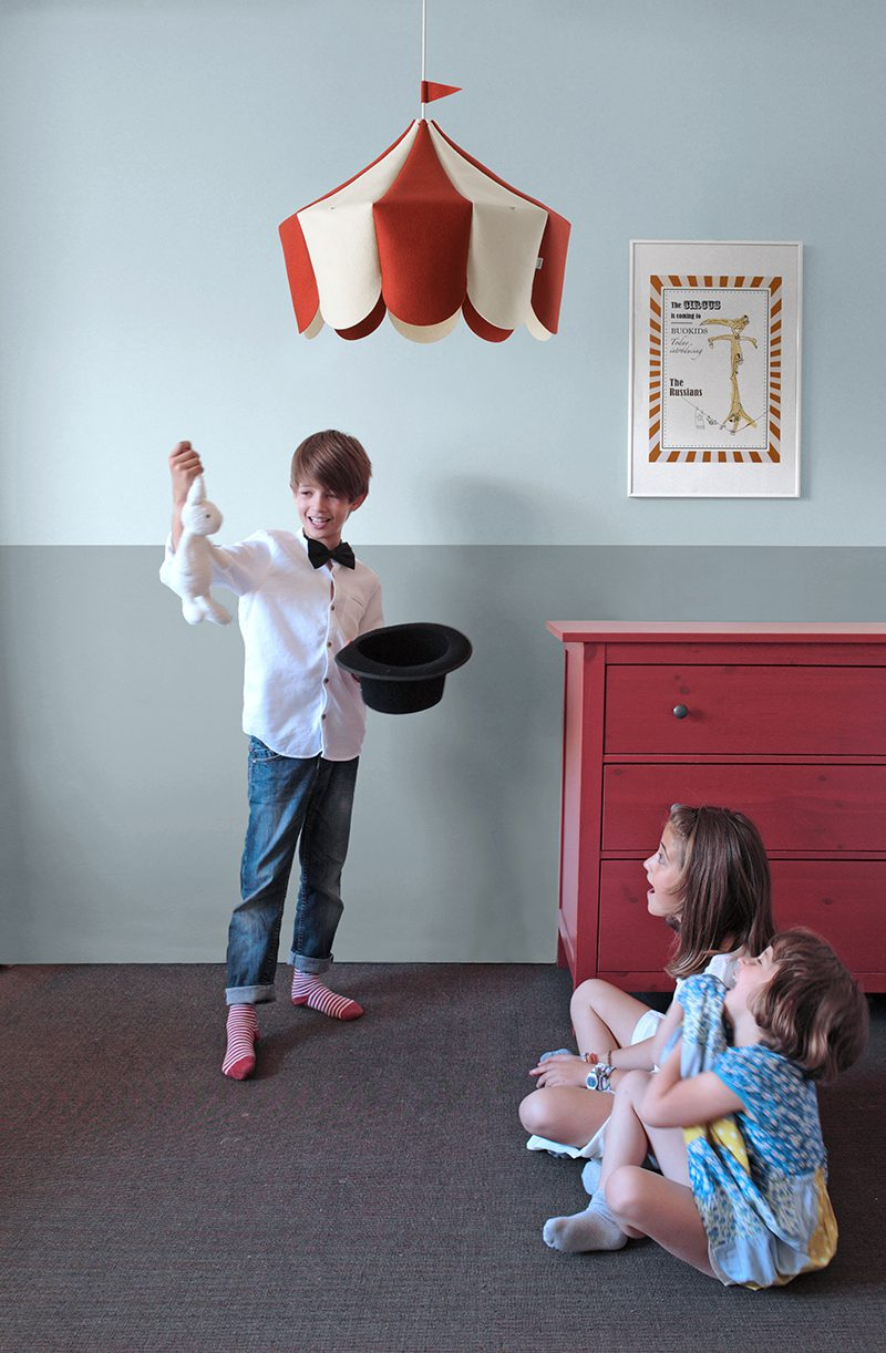 Circus, la lámpara infantil de Javier Herrero para Buokids