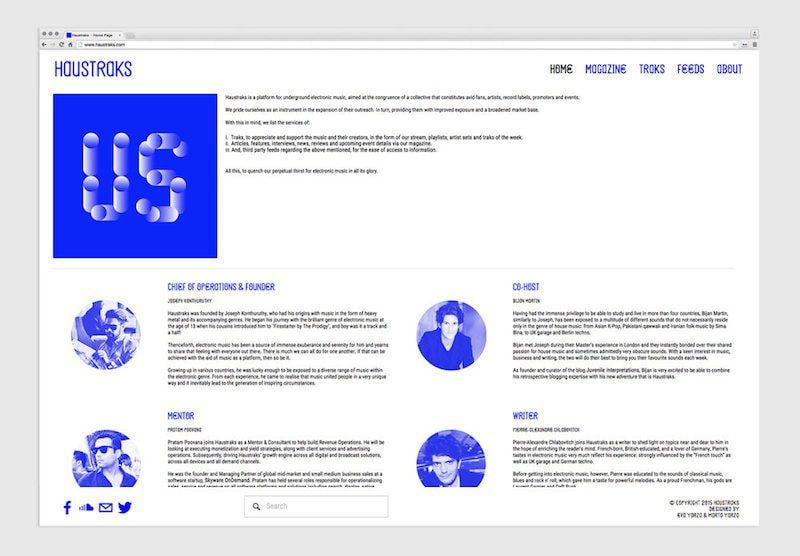Haustraks, un proyecto de marca de Yarza Twins