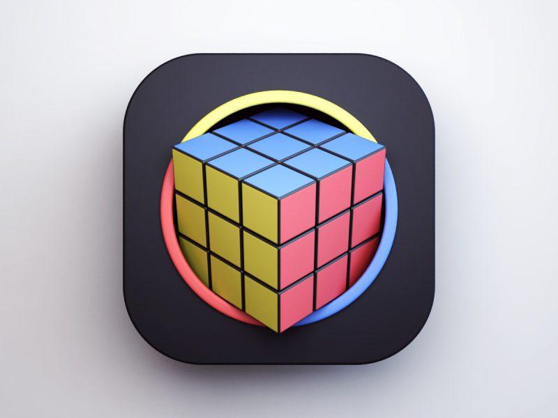 Icon Works, los objetos que Matjaz Valentar lleva a la categoría de íconos digitales