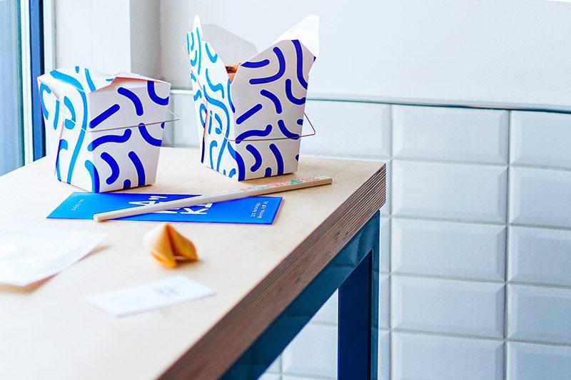 Maneki Comptoir Asiat', interiorismo y branding de Rainville-Sangaré y Studio Beau © SarahBabineau