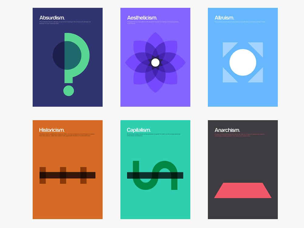 Philographics, de Genís Carreras. Nombrado uno de los mejores proyectos de Kickstarter