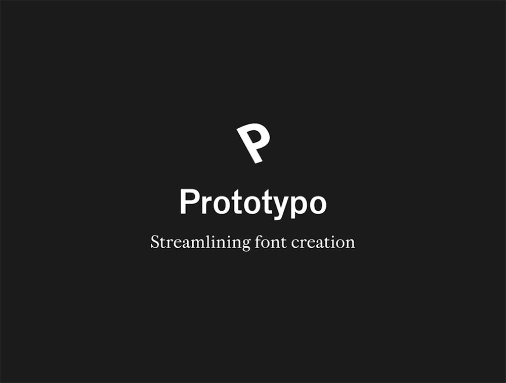 Prototypo, aplicación web para crear y modificar fuentes en tiempo real