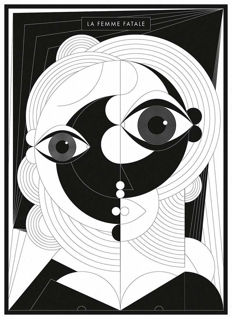 The iconic women, Sebastian Onufszak, 2017.
