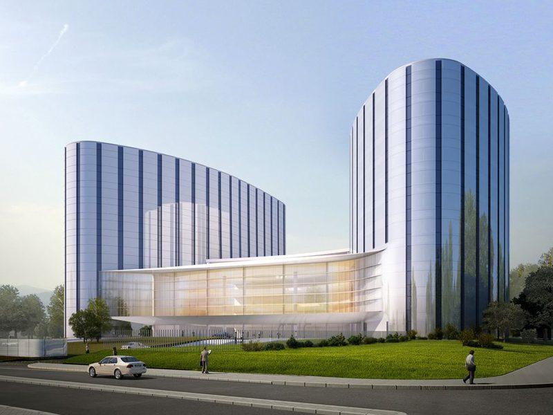 Centro de Tratamiento e Investigación de Cáncer, de Rafael de La-Hoz Arquitectos