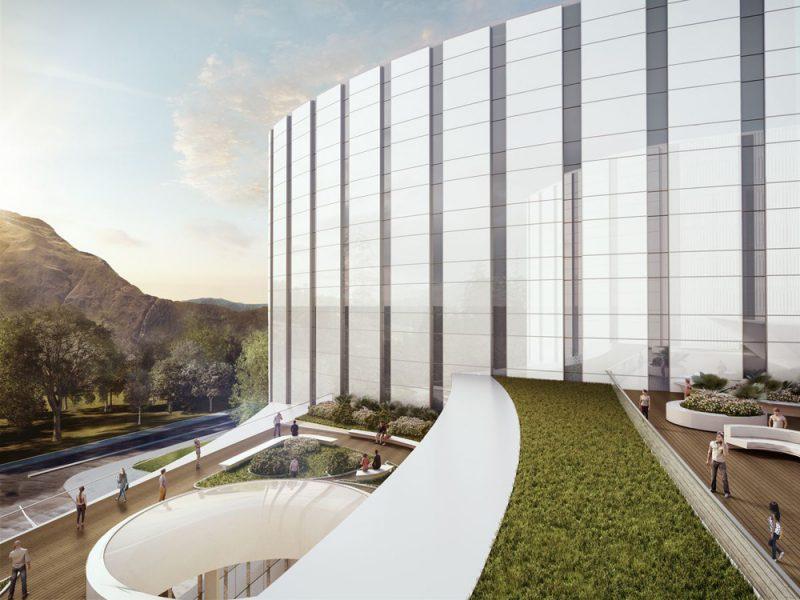 Premiado el Centro de Tratamiento e Investigación de Cáncer de Bogotá, de Rafael de La-Hoz Arquitectos.