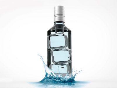 ICE Pure Icelandic Water. Primer Premio del concurso MasterGlass de Vidrala.