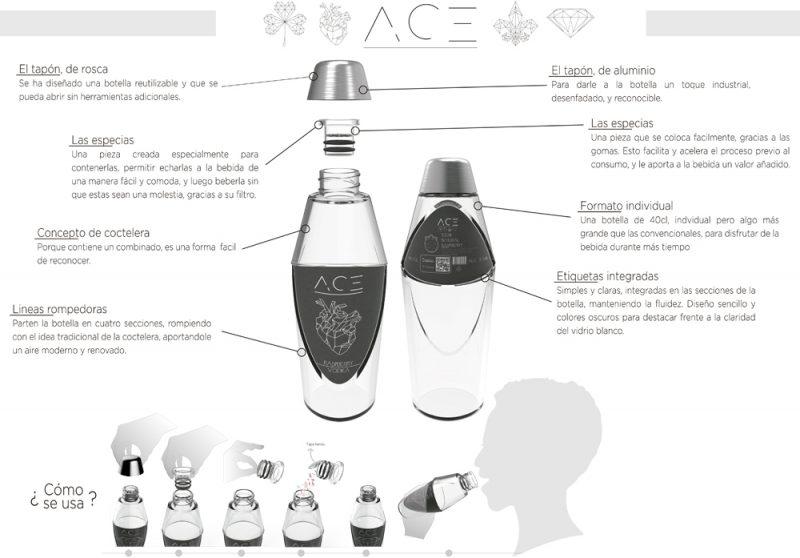 ACE. Accesit del concurso MasterGlass de Vidrala.