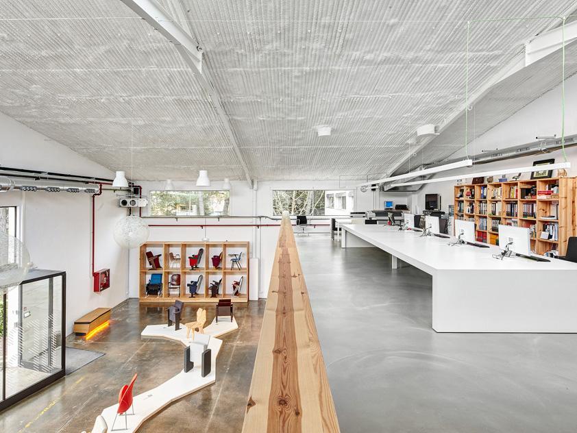 El centro de diseño de Miriam Castells Studio. Espacios para pensar en diseño