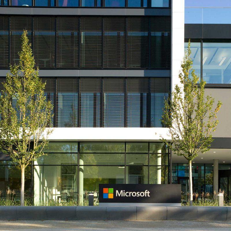 """La nueva sede de Microsoft en Alemania: oficinas para el """"trabajo inteligente"""""""