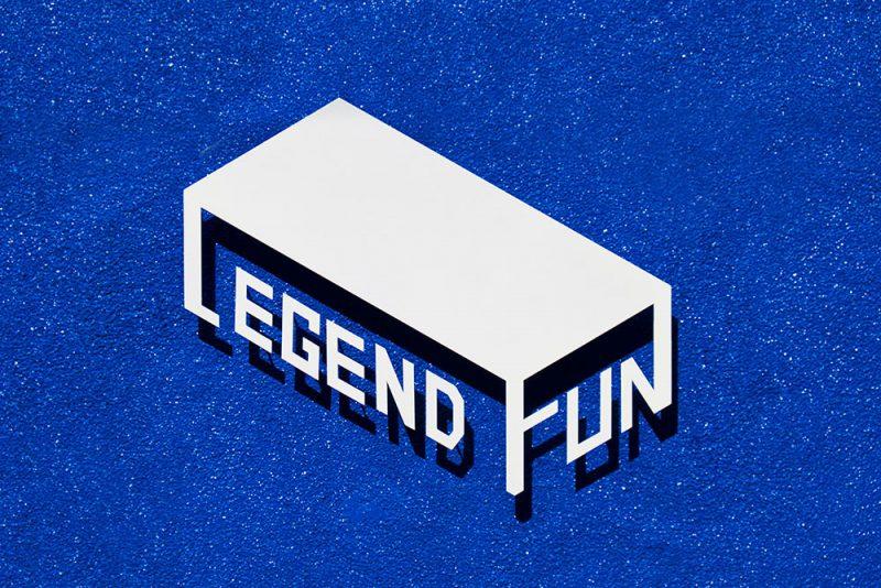 Legen Fun, imagen e identidad corporativa de 25degreestudio