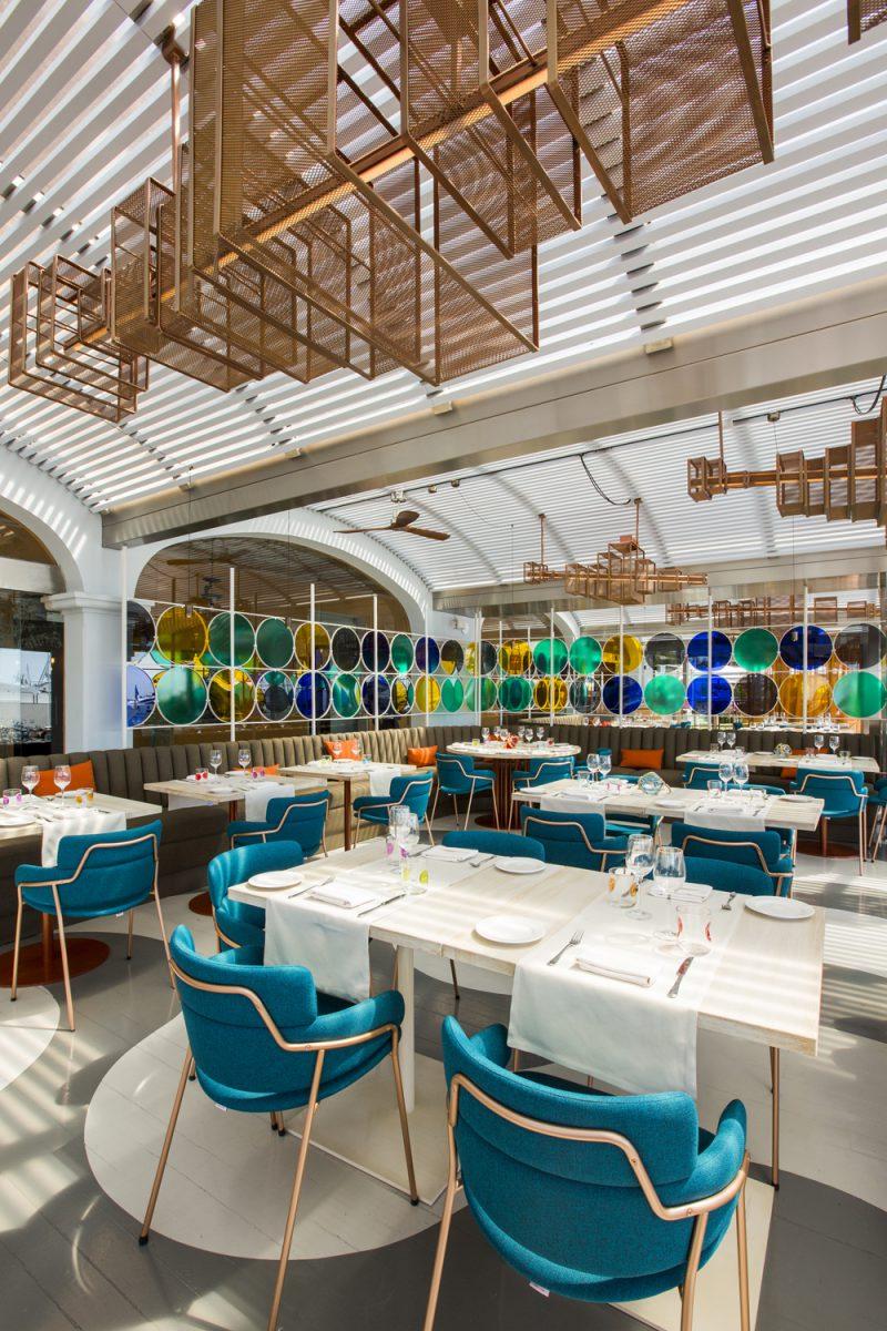 Restaurante Baiben. El homenaje de ILMIODESIGN a Mallorca. Fotografía: Uxio Da vila.