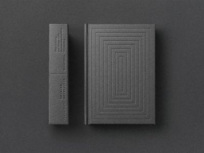 Diseño editorial, de Yuta Takahashi para Michael Debus. Minimalismo japonés
