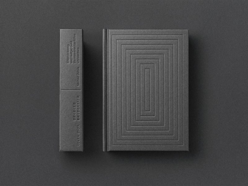 Diseo editorial, de Yuta Takahashi para Michael Debus. Minimalismo japons