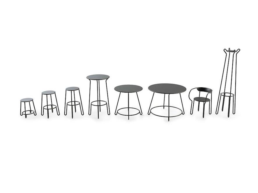 Huggy, el mobiliario interior/exterior de Antoine Lesur para Maiori